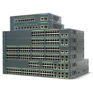 Cisco Catalyst 2960 PLUS 48 10/100 + 2T/SFP Lan Base - WS-C2960+48TC-S Switch 48 ports 10/100 + 2 ports Gigabit double connectique SFP et ethernet 10/100 Mbps