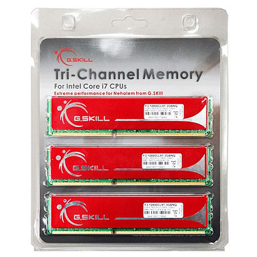 G.Skill NQ Series 6 Go (3x 2Go) DDR3 1600 MHz