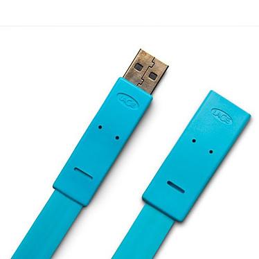 LaCie Flat Cable - Rallonge USB Type AA (Mâle/Femelle) - 1.2 m LaCie Flat Cable - Rallonge USB 2.0 Type AA (Mâle/Femelle) - 1.2 m