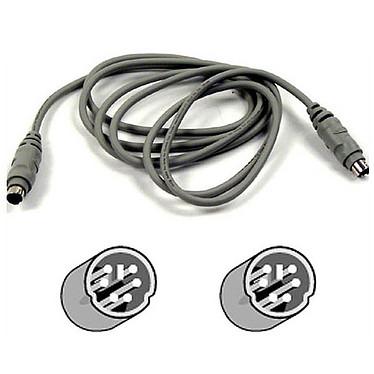Belkin Série Pro - Câble PS/2 mâle/mâle (15 mètres)