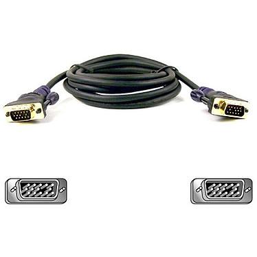 Belkin Série Or - Câble VGA mâle/mâle (3 mètres)