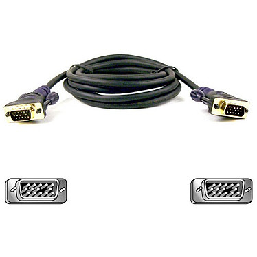 Belkin Série Or - Câble VGA mâle/mâle (5 mètres)