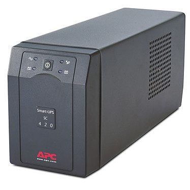APC Smart-UPS SC 420VA APC Smart-UPS SC 420VA - Onduleur line-interactive monophasé 230V (Série)
