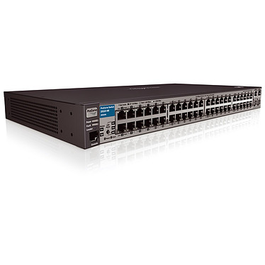 HP ProCurve 2510-48 HP ProCurve 2510-48 - Switch 48 ports 10/100 Mbps avec et 2 ports 10/100/1000 et 2 emplacements mini-GBIC (SFP)