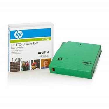 HP C7974A Ultrium 1.6 To RW HP C7974A - Bande de sauvegarde LTO-4 Ultrium 1,6 To réinscriptible