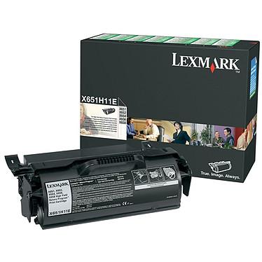 Lexmark 0X651H11E Toner Noir Haute Capacité (25 000 pages à 5%)