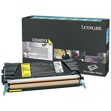Lexmark C5340YX Lexmark toner C5340YX (Jaune) - (7 000 pages à 5%)