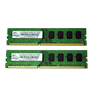 G.Skill NT Series 4 Go (2x 2Go) DDR3 1333 MHz