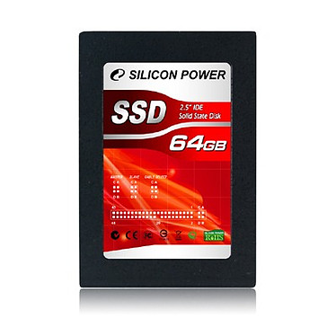 "Silicon Power Solid State Disk - SSD 64 Go 2.5"" IDE"