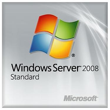Microsoft Windows Server 2008 Standard Edition SP2 OEM - Licence 1 serveur, 5 clients (français)
