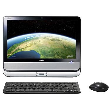 "ASUS EeeTop PC ET2002T ASUS EeeTop PC ET2002T - Intel Atom Dual Core 330 2 Go 250 Go NVIDIA ION LCD 20"" Tactile Wi-Fi N Vista Premium"