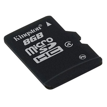 Kingston microSD 8 Go High Capacity