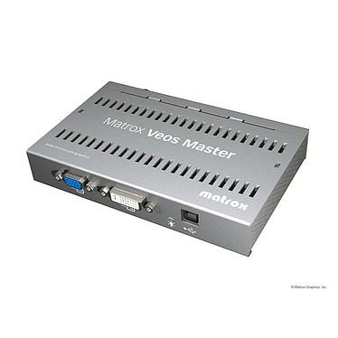 Matrox Veos Master Unit Module d'extension graphique (1 entrée DVI + 1 entrée VGA) sur câble Coxial (jusqu'à 100 mètres)