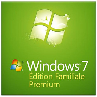 Microsoft Windows 7 Édition Familiale Premium OEM 32 bits
