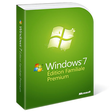 Microsoft Windows 7 Édition Familiale Premium