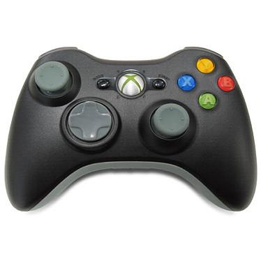 Microsoft Wireless Controller Noir (Xbox 360) Microsoft Xbox 360 Wireless Controller Noir - Joypad sans fil pour Xbox 360