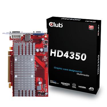 Club 3D Radeon HD 4350 1024 MB Passive Heatsink
