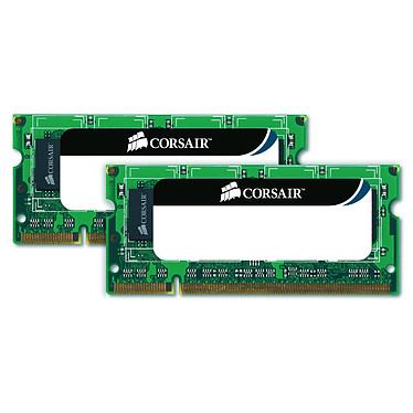 Corsair Value Select SO-DIMM 8 Go (2x 4 Go) DDR3 1333 MHz Kit Dual Channel RAM SO-DIMM DDR3 PC10600 - CMSO8GX3M2A1333C9