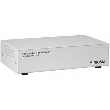 Minicom AVDS Broadcaster 8 Ports Minicom AVDS Broadcaster 8 Ports - Unité de diffusion audio et vidéo (VGA) sur 8 ports sur câble RJ45