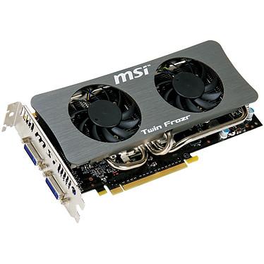 MSI N250GTS Twin Frozr 1G MSI N250GTS Twin Frozr 1G - 1 Go Dual DVI - PCI Express (NVIDIA GeForce avec CUDA GTS 250)