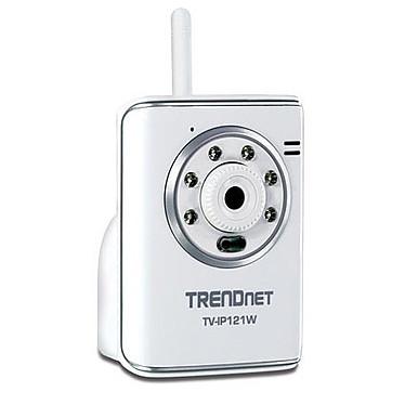 TRENDnet TV-IP121W TRENDnet TV-IP121W - Caméra IP jour/nuit WiFi G SecureView