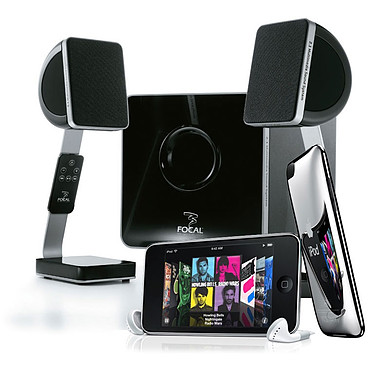 Focal XS + iPod touch 8 Go