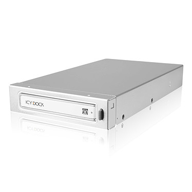 """ICY DOCK MB663USR-1S ICY DOCK MB663USR-1S - Rack amovible pour disque dur 2""""1/2 Serial ATA (HDD ou SSD) dans baie 3""""1/2"""