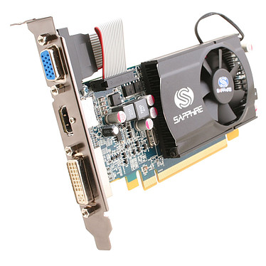 Sapphire Radeon HD 5570 1 GB Sapphire Radeon HD 5570 - 1 Go HDMI/DVI - PCI Express (ATI Radeon HD 5570)