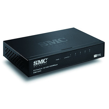 SMC GS5 SMC GS5 - Switch 5 Ports 10/100 /1000 Mbps