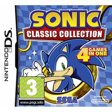 Sonic Classic Collection (Nintendo DS) Sonic Classic Collection (Nintendo DS)