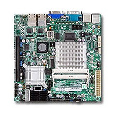 SuperMicro X7SPA-HF Carte mère Mini ITX avec processeur Atom D510 (Intel NM10 Express)