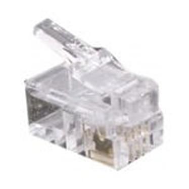 Conectores RJ9 (par 10)