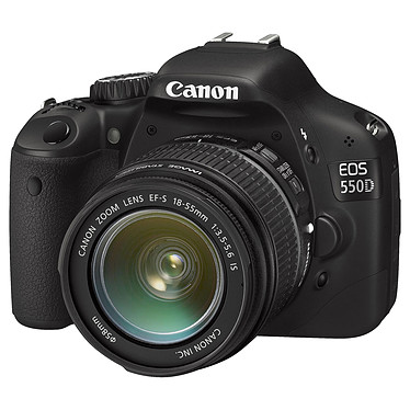 Canon EOS 550D + Objectif EF-S 18-55mm IS