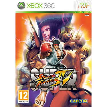 Super Street Fighter IV (Xbox 360) Super Street Fighter IV (Xbox 360)