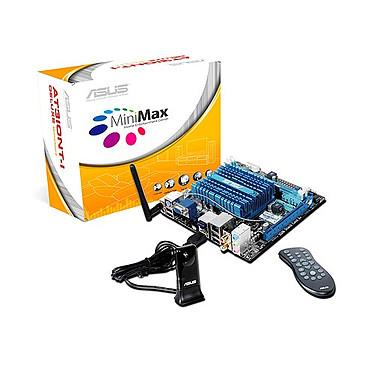 ASUS AT3IONT-I Deluxe ASUS AT3IONT-I Deluxe avec processeur Atom 330 (NVIDIA ION) - Mini ITX - (garantie 3 ans)
