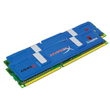 Kingston HyperX 2 Go (2x 1Go) DDR3 1800 MHz Kingston HyperX 2 Go (Kit 2x 1 Go) DDR3-SDRAM PC14400 CL9 - KHX1800C9D3K2/2G (garantie 10 ans par Kingston)