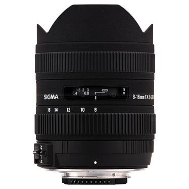 SIGMA 8-16mm F4,5-5,6 DC HSM monture Canon Zoom ultra grand angle