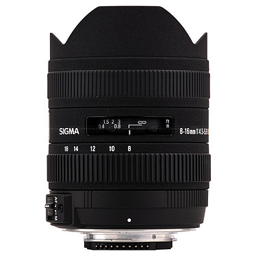 SIGMA 8-16mm F4,5-5,6 DC HSM monture Pentax Zoom ultra grand angle