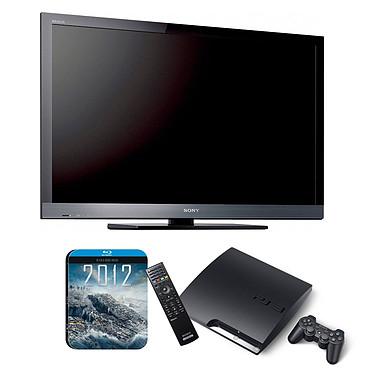 "Sony BRAVIA KDL-32EX600 + Playstation 3 Slim +télécommande + Film ""2012"" Sony BRAVIA KDL-32EX600 + Playstation 3 Slim + télécommande + Film ""2012"" - Téléviseur LED Full HD 32"" (81 cm) 16/9 - 1920 x 1080 pixels - Tuner TNT HD - HDTV 1080p"
