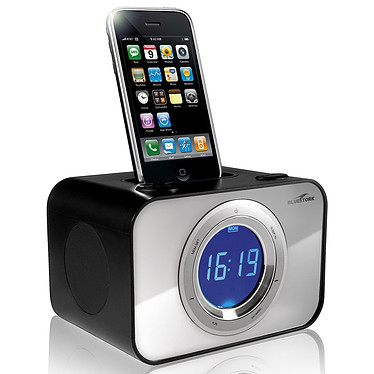 Bluestork Wakeup Weeky Bluestork Wakeup Weeky - Radio-réveil avec dock pour iPod/iPhone