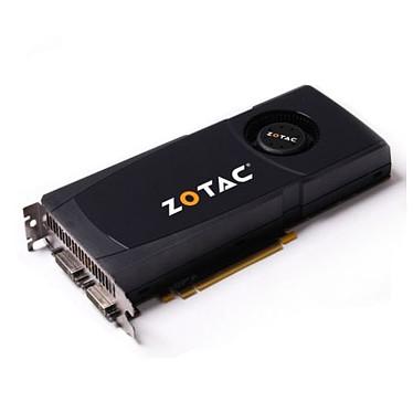 ZOTAC GeForce GTX470 ZOTAC GeForce GTX470 - 1280 Mo Mini HDMI/Dual DVI - PCI Express (NVIDIA GeForce avec CUDA GTX 470)