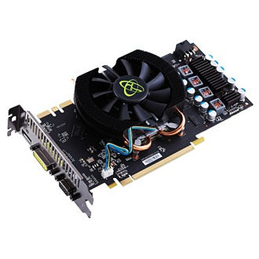 XFX NVIDIA GeForce GTS 250 1 GB XFX NVIDIA GeForce GTS 250 1 GB Core Edition - 1 Go HDMI/DVI - PCI Express (NVIDIA GeForce avec CUDA GTS 250)
