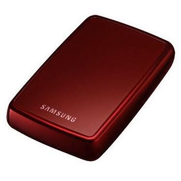 """Samsung S2 Portable 640 GB Samsung S2 Portable - Disque dur externe 2 """"1/2 640 Go - Coloris rouge (USB 2.0)"""