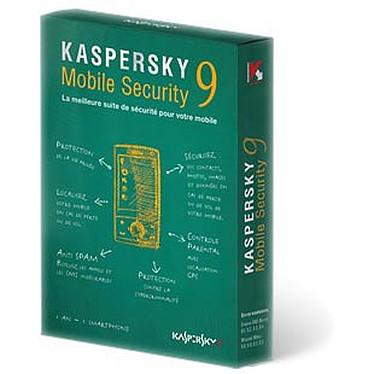 Kaspersky Mobile Security 9.0 Kaspersky Mobile Security 9.0 - Licence 1 an 1 poste (français, Symbian/WINDOWS)