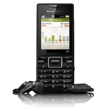 Sony Ericsson Elm Noir métal Sony Ericsson Elm Noir métal - Téléphone 3G+