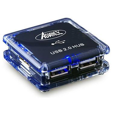 Advance HUB-904U Advance HUB-904U - Hub 4 ports USB 2.0 noir (alimentation externe)