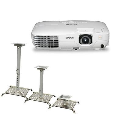 Epson EB-X8 Epson EB-X8 + Aavara PP3025 - Vidéoprojecteur LCD XGA 2500 Lumens + Support plafond