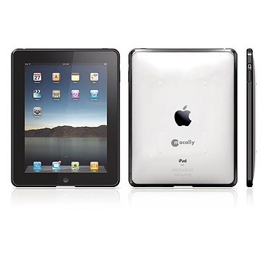 Macally METROLPAD Macally METROLPAD - Protection transparente pour iPad avec grip en silicone
