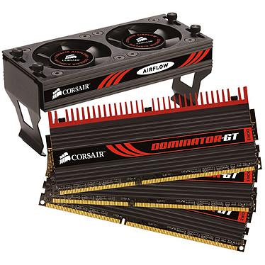 """Corsair Dominator-GT 6 Go (3x 2Go) DDR3 2000 MHz Corsair Dominator-GT """"Triple Channel"""" 6 Go (kit 3x 2 Go) DDR3-SDRAM PC16000 CL8 - CMT6GX3M3A2000C8 (garantie 10 ans par Corsair)"""