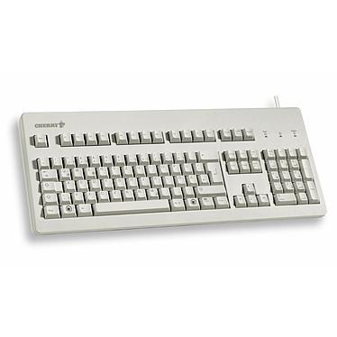 Cherry G80-3000 (gris) Clavier mécanique USB & PS/2 à switches MX Black (AZERTY, Français)